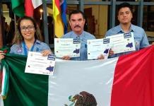 Estudiantes ganan plata en certamen de tecnología