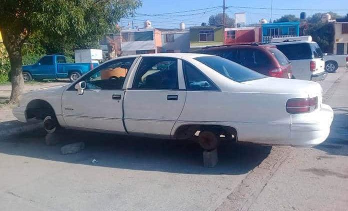 Dos vehículos robados, recuperan en Soledad