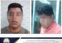 Giran aprehensión a los dos hombres que trasportaban cabeza humana en Rioverde