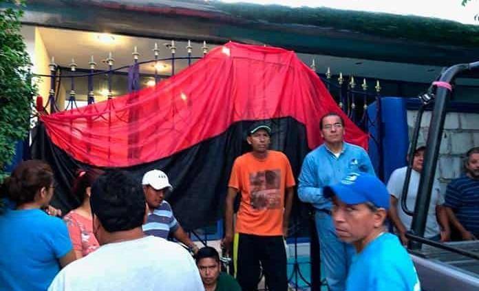 Sindicato coloca la bandera de huelga en DAPA