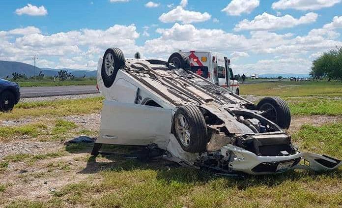 Diputado sufre accidente en la  carretera 57