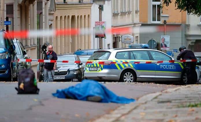 El atacante de la sinagoga alemana actuó solo y por motivos ultraderechistas