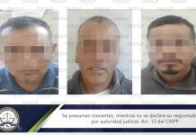 Capturan a tres sujetos buscados por un homicidio en Guanajuato