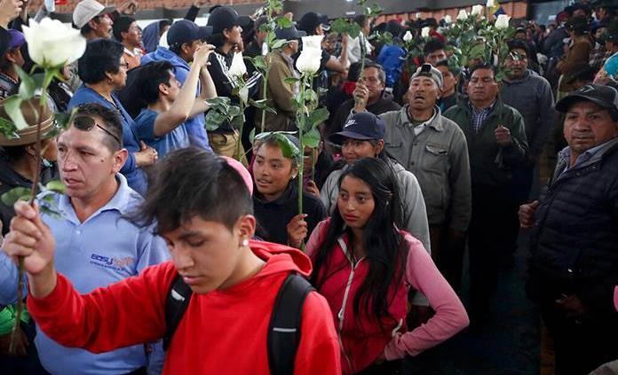 Defensoría reporta 5 muertos por protestas en Ecuador