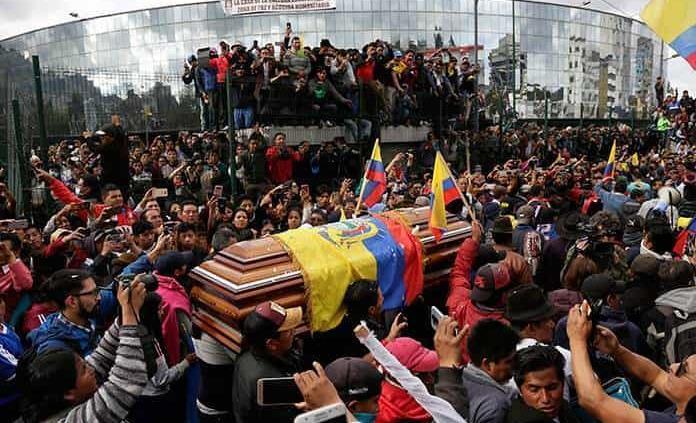 Crece la cifra fatal en Ecuador