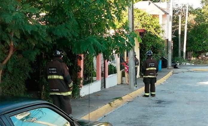 Evitan los bomberos tragedias por fugas de gas