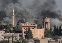 Miles de desplazados en Siria por poderosa ofensiva