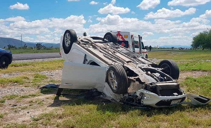 Sólo hay un hospitalizado del accidente de diputado