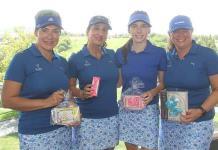 Premian a expertas jugadoras en el Torneo de Golf