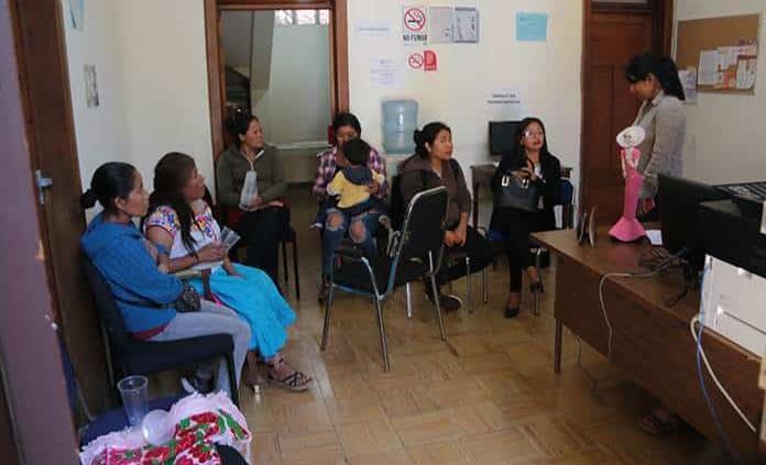 La comunidad mazahua de SL toma el Indepi