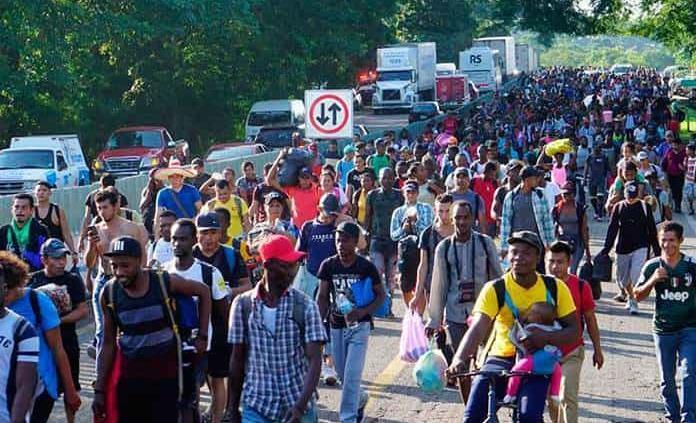 Se atenderá caravana migrante que salió de Tapachula: Sánchez Cordero