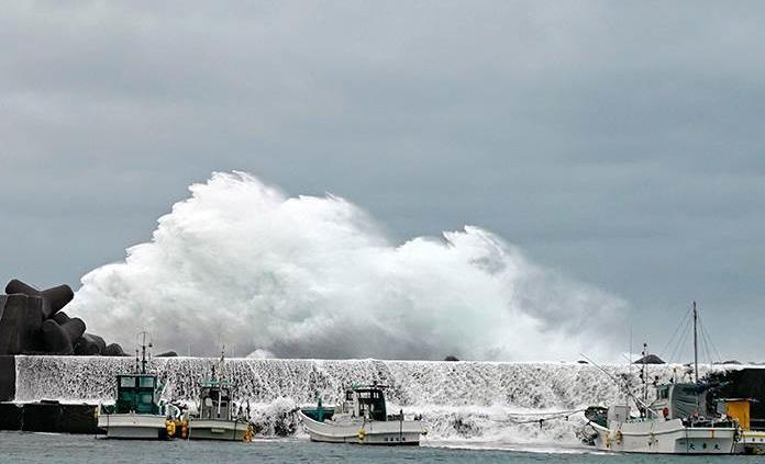 El tifón Hagibis amenaza Japón
