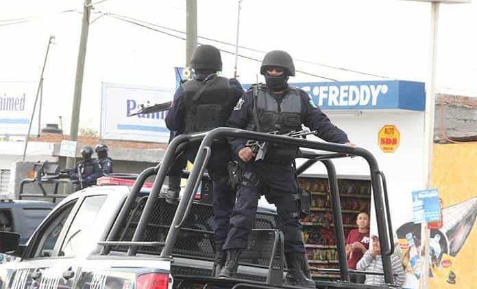 SLP registra un déficit de mil 500 policías estatales