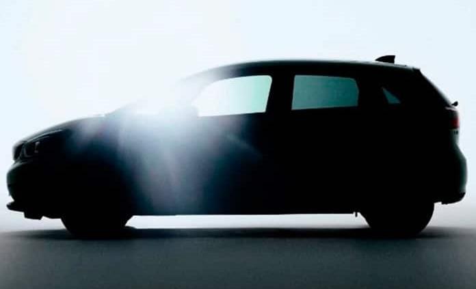 Asoma a trasluz cuarta generación del Honda Fit
