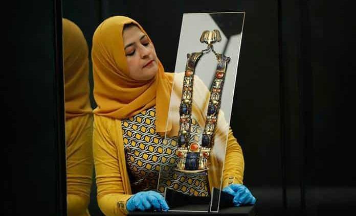 Tesoros de la tumba de Tutankamón estarán por última vez en Londres