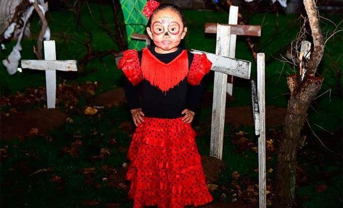 Concurso de disfraces de personajes del terror, en el Club Campestre de San Luis