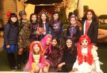 Isabel Casillas Ríos sorprende con gran fiesta de miedo