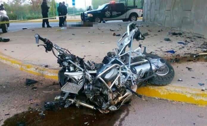 Motociclista fallece en trágico accidente