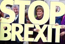 Descontento por el Brexit aviva esperanzas de partido escocés independentista