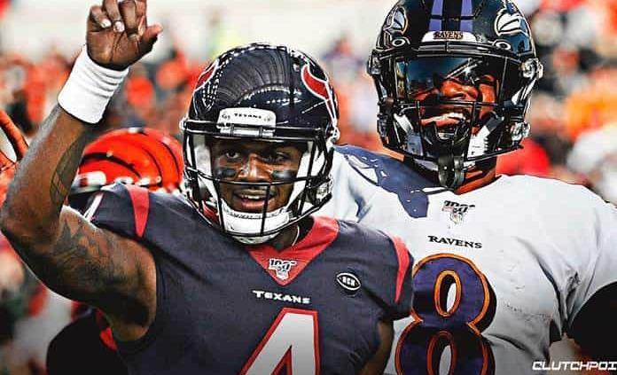 Lamar Jackson lanzó cuatro touchdowns y Ravens aplastan a Texans