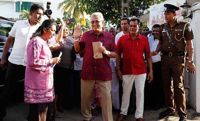 Rajapaksa consigue la victoria electoral