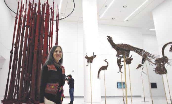Cecilia Vicuña, gana premio Velázquez de Artes Plásticas 2019
