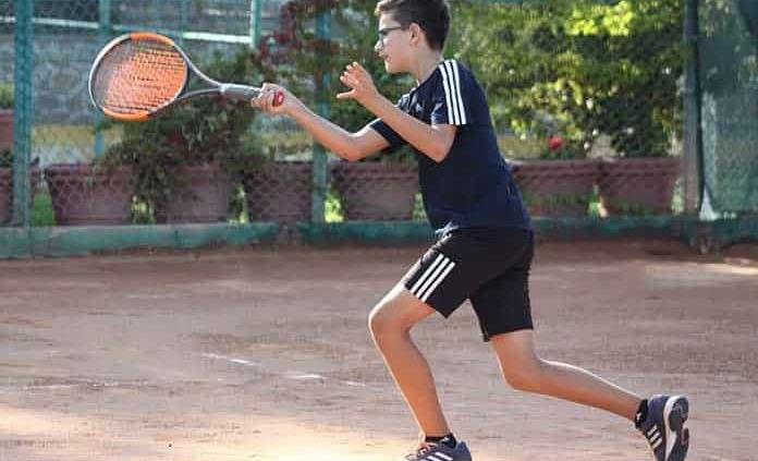 Inicia el Torneo Calcuta de Tenis en el Club Deportivo Potosino