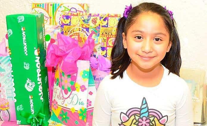 Ana Daniela Esquivel Gómez festejó feliz otro año de vida