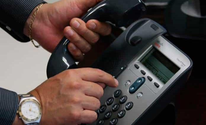 Alertan por extorsiones telefónicas