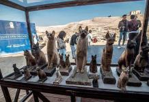 Egipto presenta momias de animales