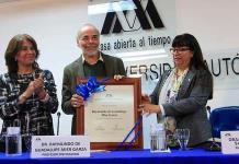 Raymundo Mier, Profesor Distinguido de la UAM