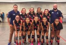 Selección infantil de voleibol destaca en torneos nacionales