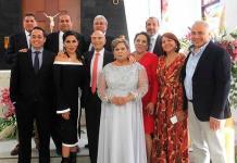 Miguel Poullet y Graciela Zacarías celebraron felices 65 años de matrimonio