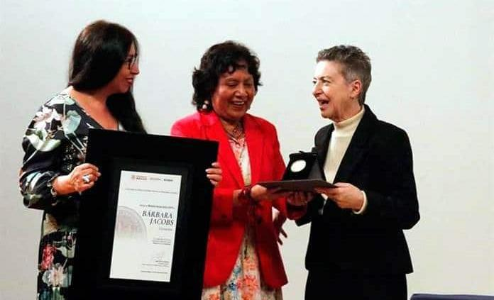 Inesperada y bienvenida mi Medalla Bellas Artes: Jacobs