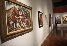 Zapata llega al Palacio de Bellas Artes