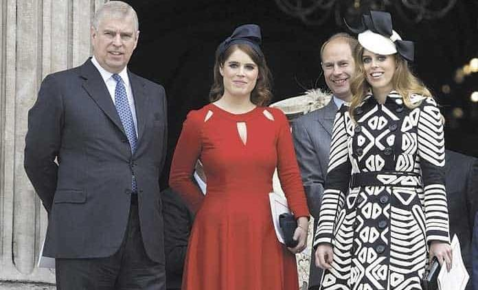 Isabel II cancela fiesta de cumpleaños del príncipe Andrés