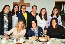 Zayra Ríos de Casillas celebró feliz su cumpleaños