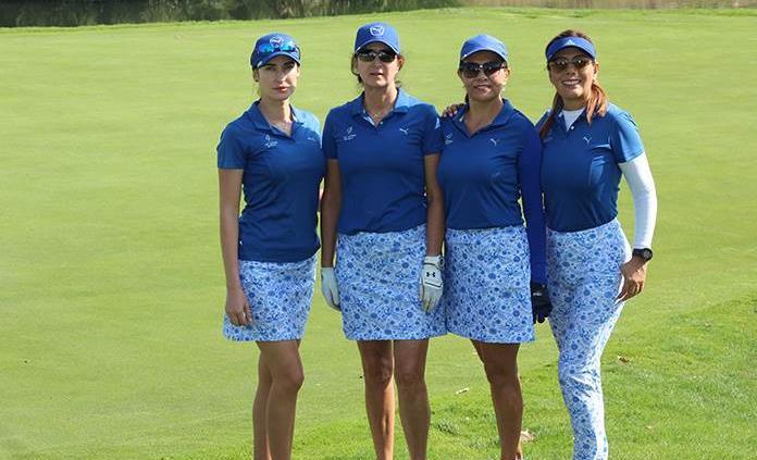 Paty González y Karina Engel ganan el Torneo de Golf en la Loma Residencial