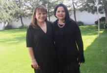 Enriqueta y Carla Contreras Bretherton festejaron otro año de vida