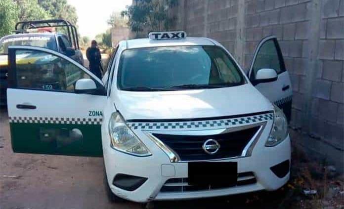 Aparece en Los Gómez un taxi robado