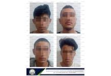 Detienen a cuatro jóvenes por supuesto homicidio