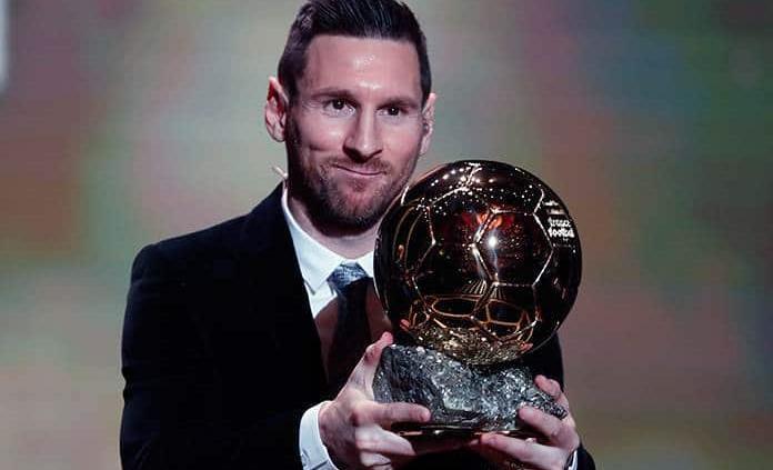 Conquista Messi el Balón de Oro