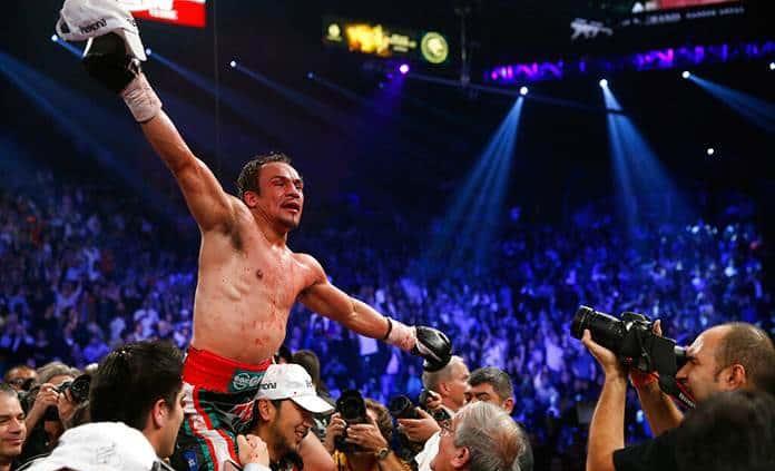 Juan Manuel Márquez entra al Salón de la Fama del Boxeo