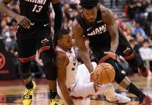 ´Triple doble´ de Butler y Heat vence a Raptors