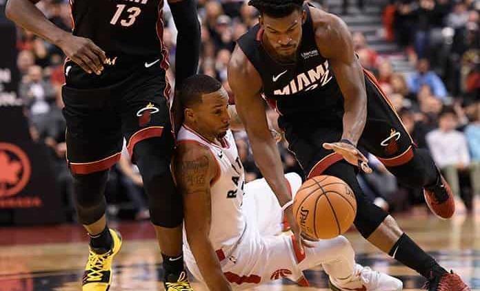 ´Triple doble´ de Butler y Heat vence a Raptors