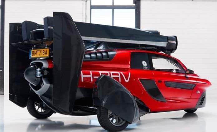 VIDEO: Compañía holandesa presenta el primer auto volador
