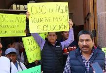 Comunidades de Mexquitic exigen agua potable
