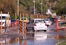 Desbarajuste vial por obras del dren