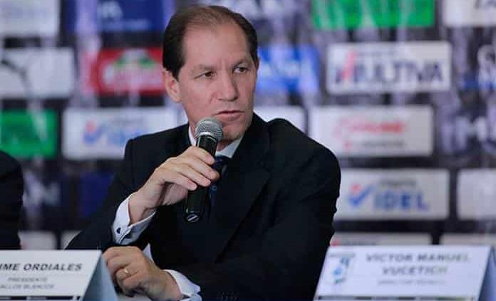 Jaime Ordiales, máxima autoridad del club Cruz Azul por ahora