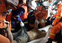 Se derrumba un edificio en Camboya; 7 muertos